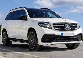 Mercedes-Benz GLS350 белый