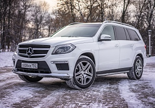 Mercedes-Benz GL белый
